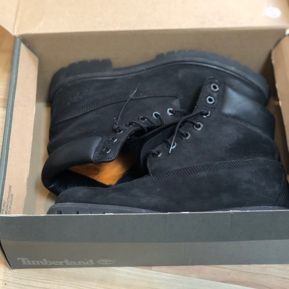 Black Suede Mens Timberland Boots